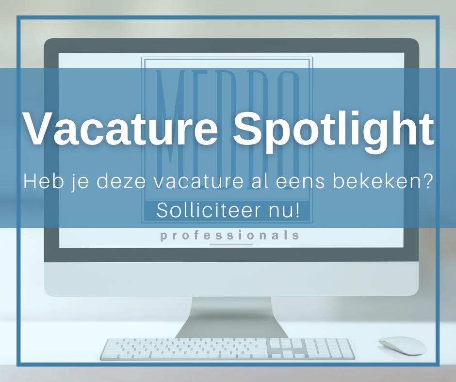 Vacature Spotlight Meddo