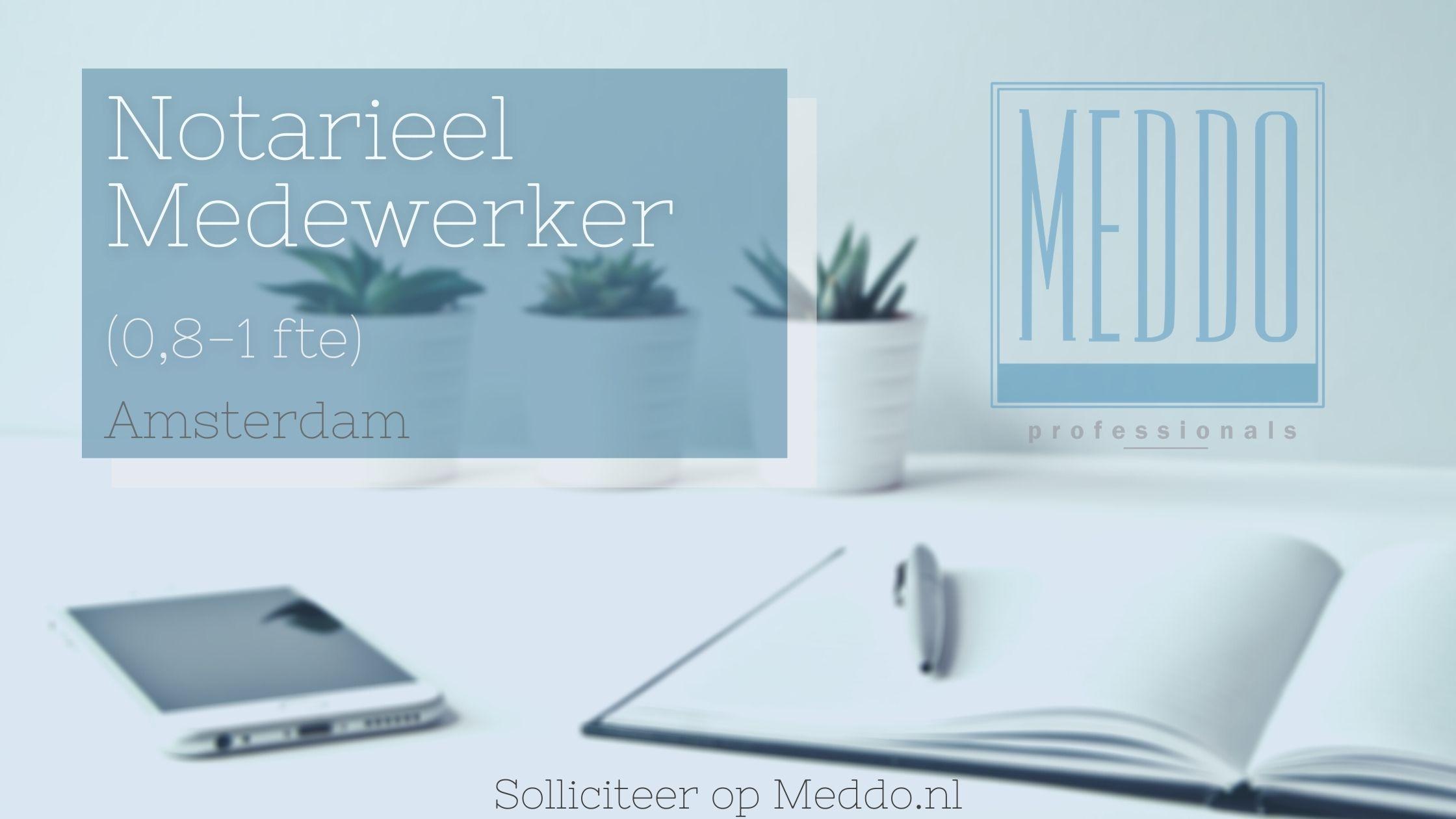 Notarieel Medewerker Amsterdam